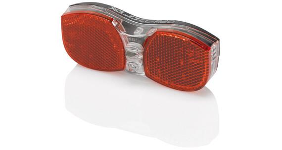 XLC Bagagedrager Fietsverlichting incl. reflector rood